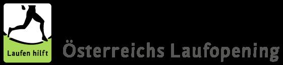 Logo: Laufen hilft, Österreichs Laufopening